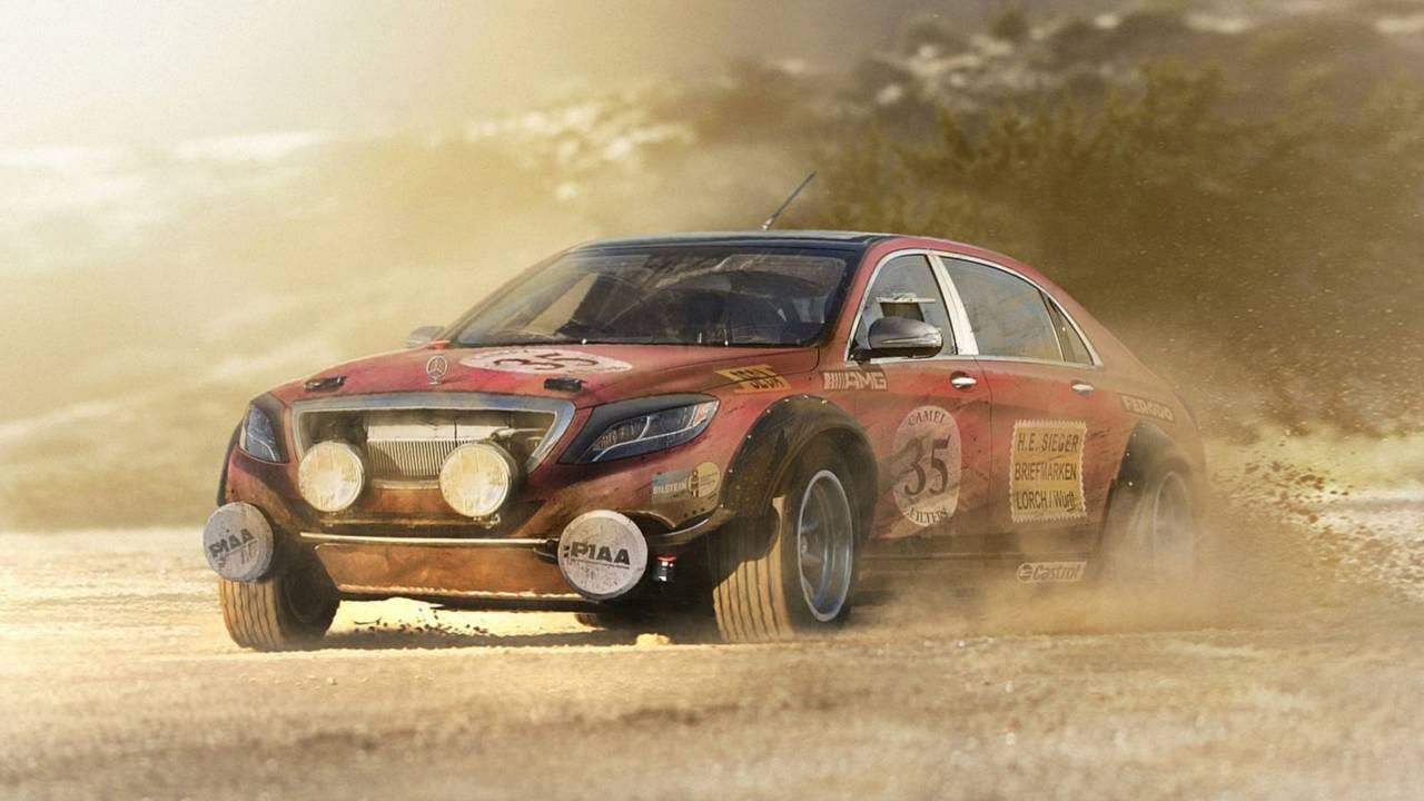 Mercedes-AMG Clase S WRAC