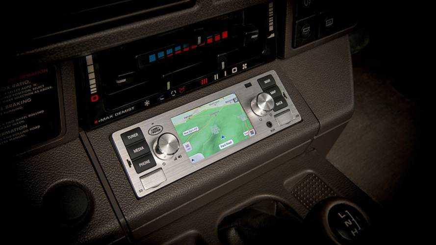 Système infodivertissement Jaguar Land Rover Classic