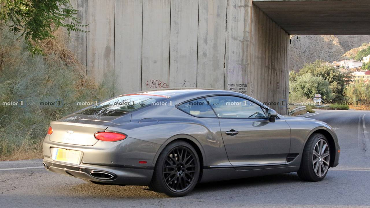 Bentley Continental GT Speed spy photo