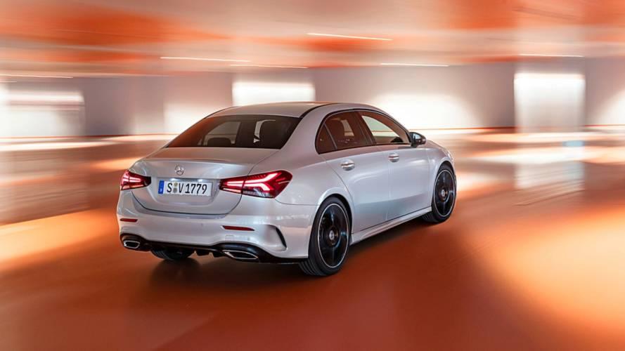 No Brasil em 2019, Mercedes Classe A Sedan começa a ser vendido na Europa