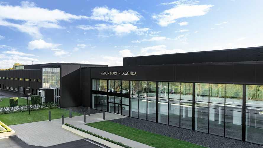 La nouvelle usine d'Aston Martin quasiment terminée