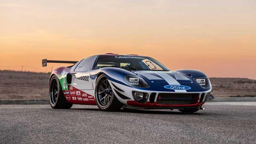 SEMA 2018: Klassischer Ford GT40 mit dem Motor des neuen Ford GT
