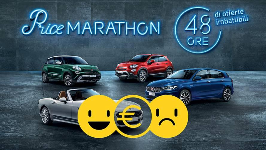 """Promozione FCA """"Price Marathon"""" di 48 ore: perché conviene e perché no"""