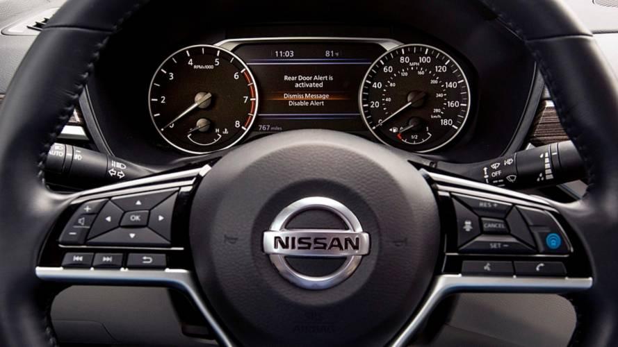 Nissan Rear Door Alert di serie sui modelli USA