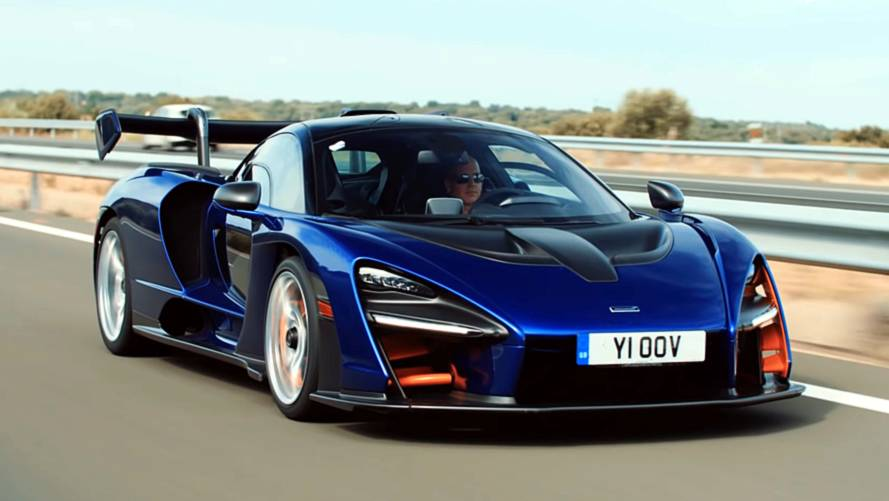 Top Gear takes the McLaren Senna on a roadtrip to Monaco