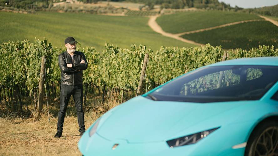 GoT's Liam Cunningham meets the Lamborghini Huracan Performante