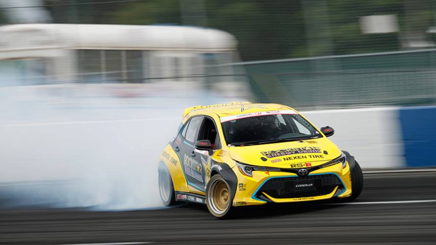 Drift Team Lifts The Lid On Crazy 1,000-HP RWD Toyota Corolla