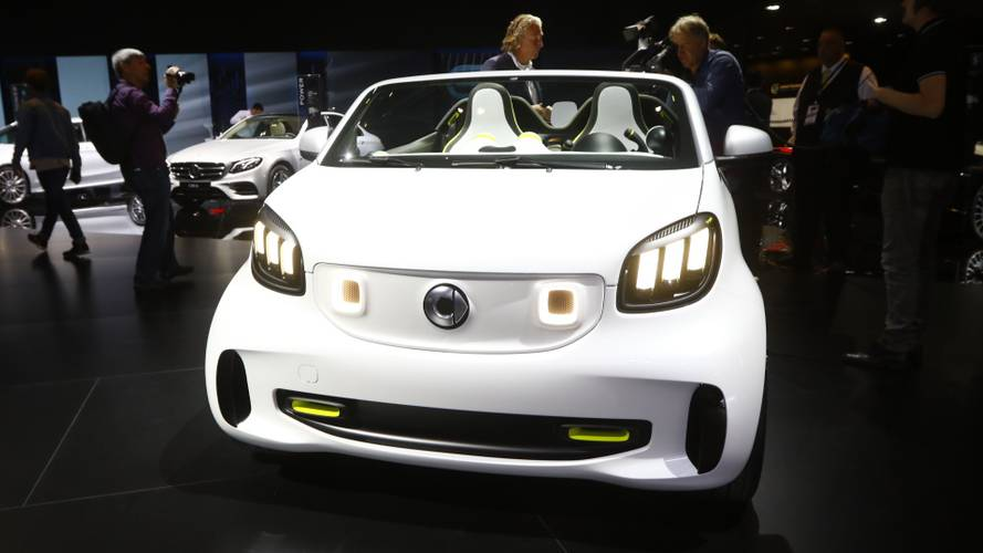 Smart Forease at the Paris Motor Show