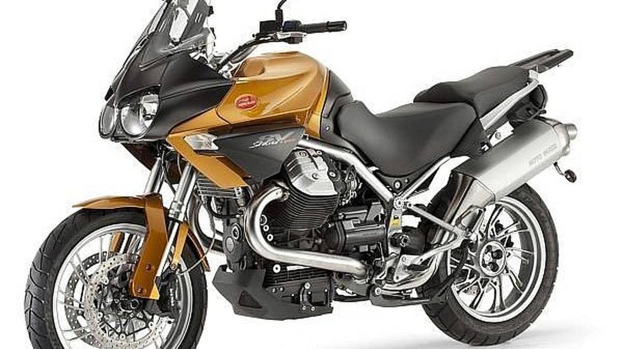The 2011 Moto Guzzi Stelvio is angry