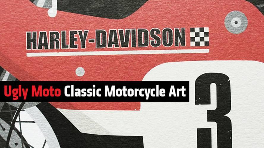Ugly Moto Classic Motorcycle Art