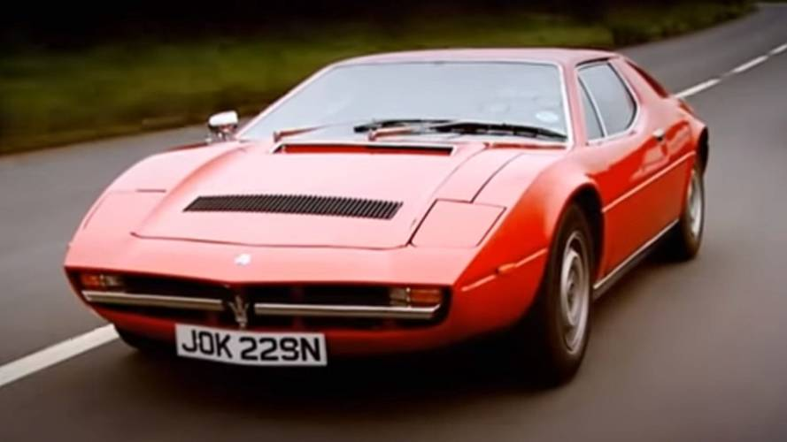 Jeremy Clarkson's 1975 Maserati Merak SS Scrapped