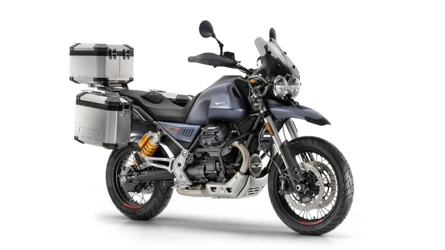 Moto Guzzi V85 TT Officially Unveiled at Intermot