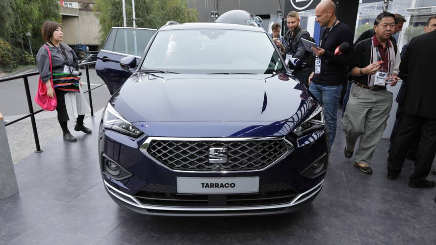 SEAT Tarraco at the Paris Motor Show