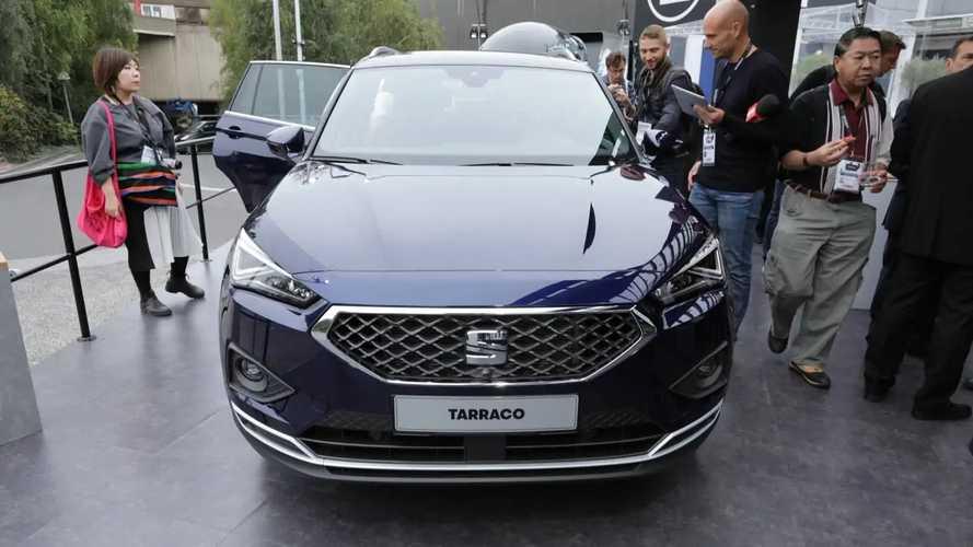 SEAT Tarraco at the Paris Motor Show