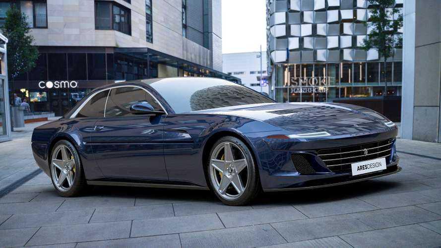 Ares Design redonne vie à la Ferrari 412 !