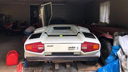 Countach! Grandma's Lambo uncovered in garage after 2 decades