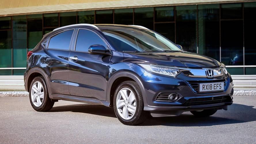Honda HR-V 2019 restyling