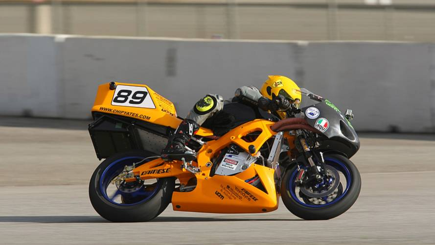 A video timeline of the Chip Yates electric superbike