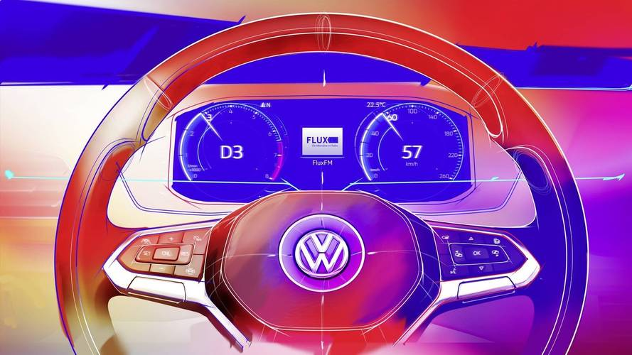 Volkswagen T-Cross - Teaser do interior