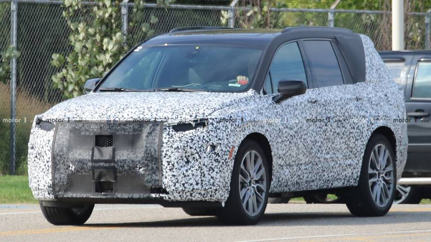 Cadillac XT6 Loses Foam Camo, Gains Production Lights