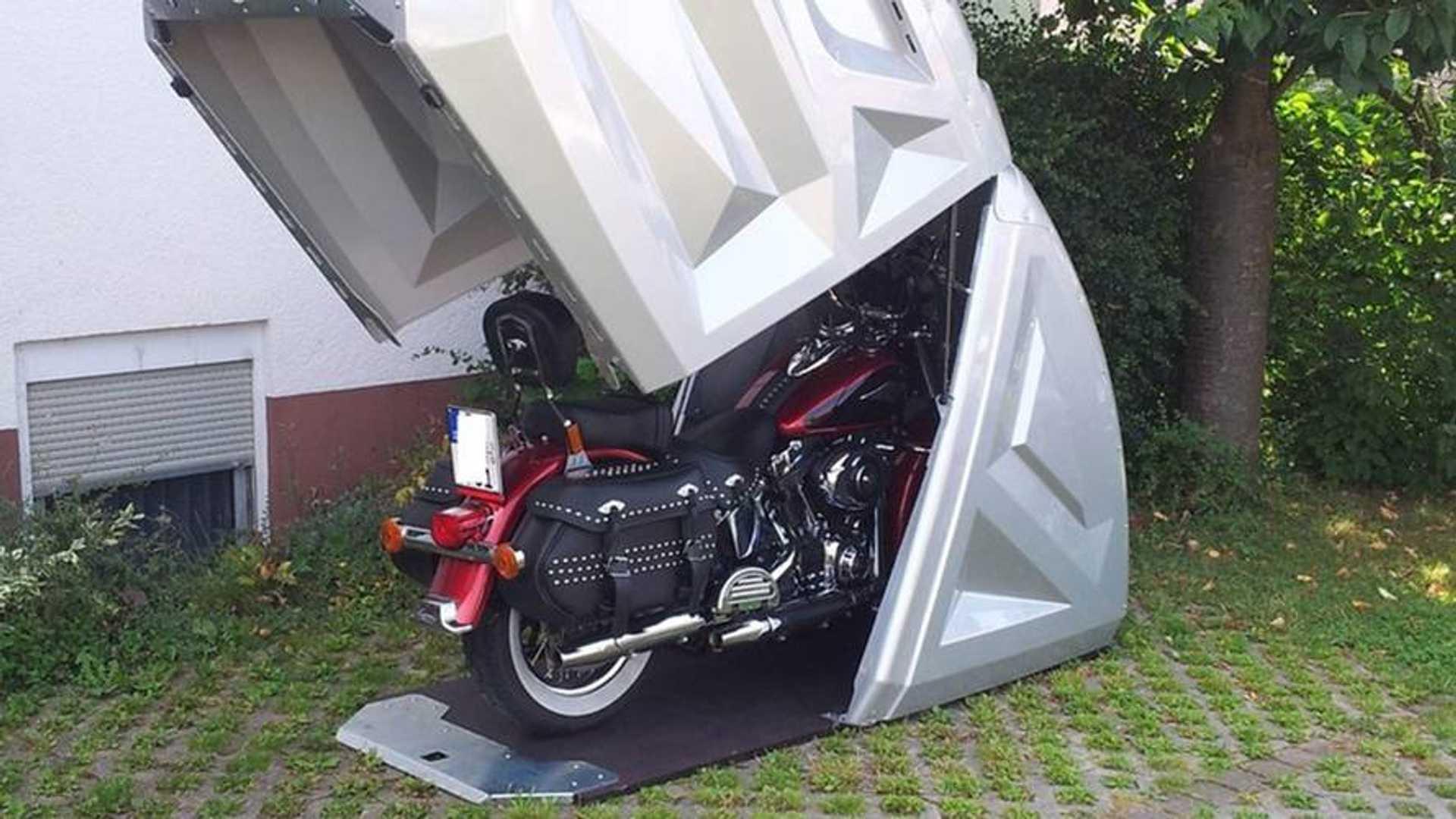 Meet BikeBOX24: A Versatile, Semi-Portable Bike Garage