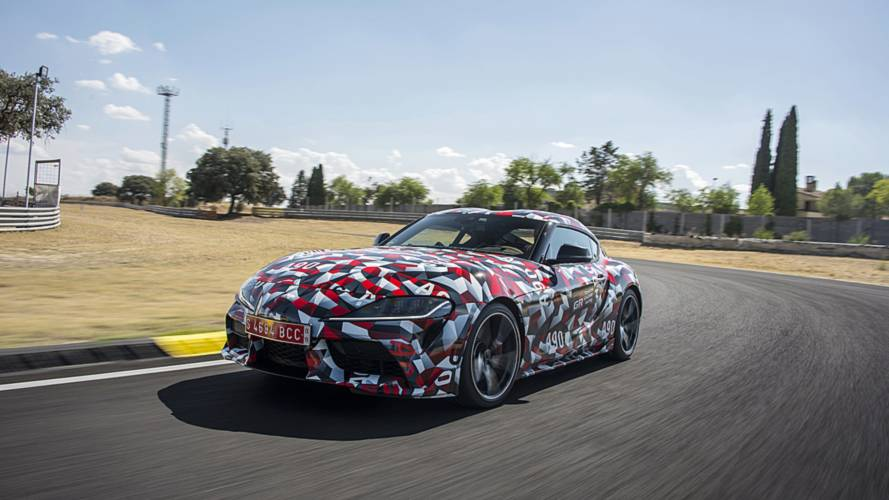 Jari Matti Latvala au volant de la Toyota Supra