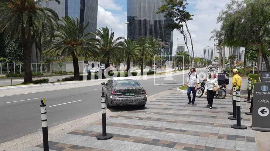 Flagra: Novo BMW Série 3 já está no Brasil e deve aparecer no Salão do Automóvel