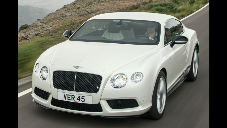 Bentley: V8 mit mehr Power