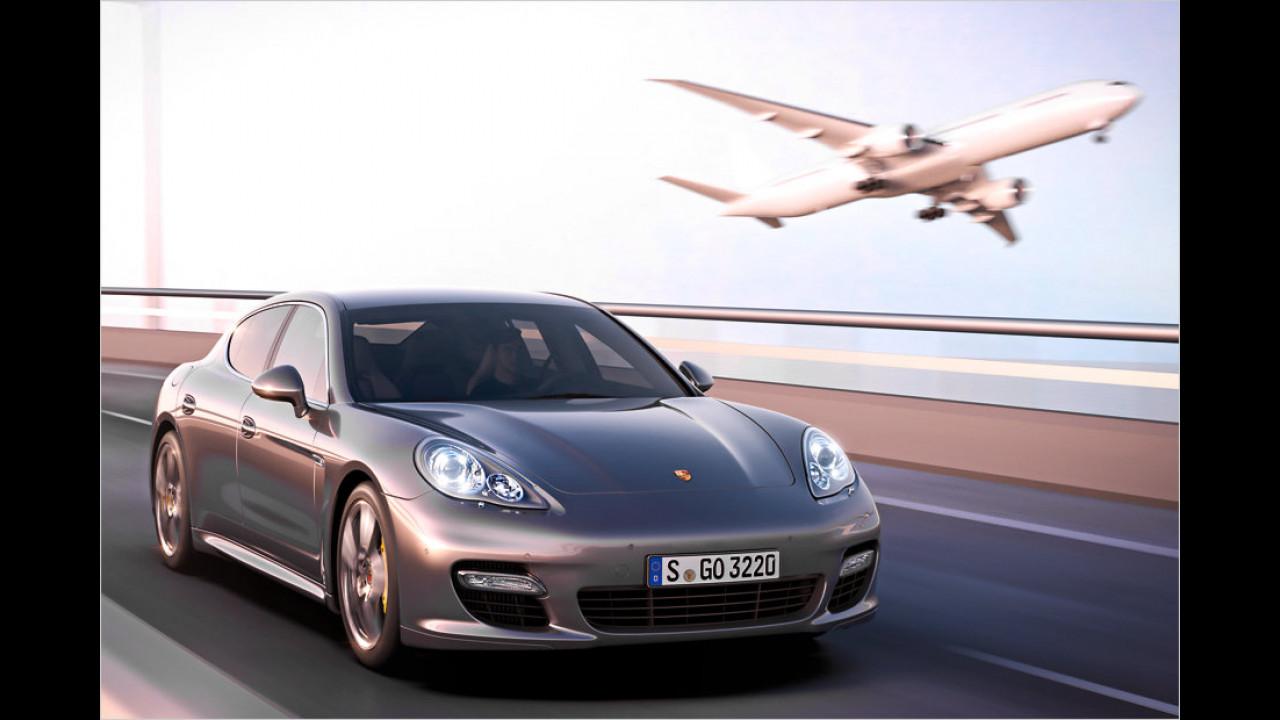 Porsche Panamera Turbo S: 306 km/h