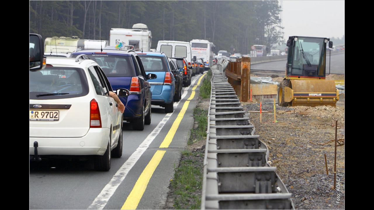 Autobahnbaustellen