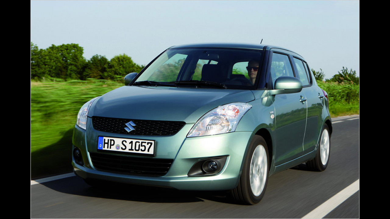 Top: Suzuki Swift