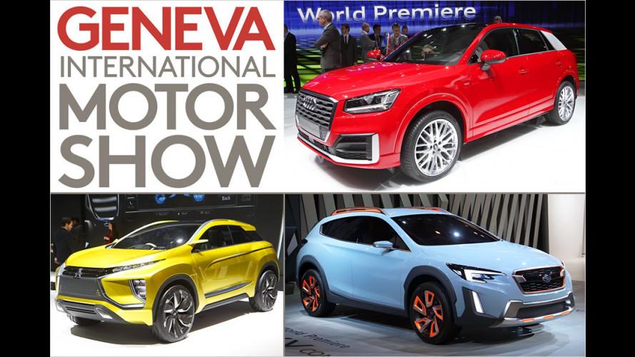 Die SUVs des Genfer Autosalons 2016