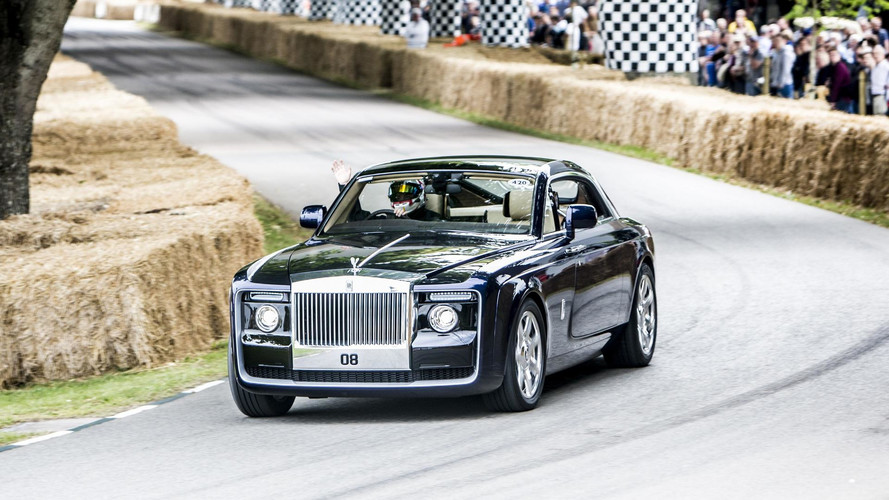 Rolls-Royce Sweptail'in Goodwood'da acelesi yok