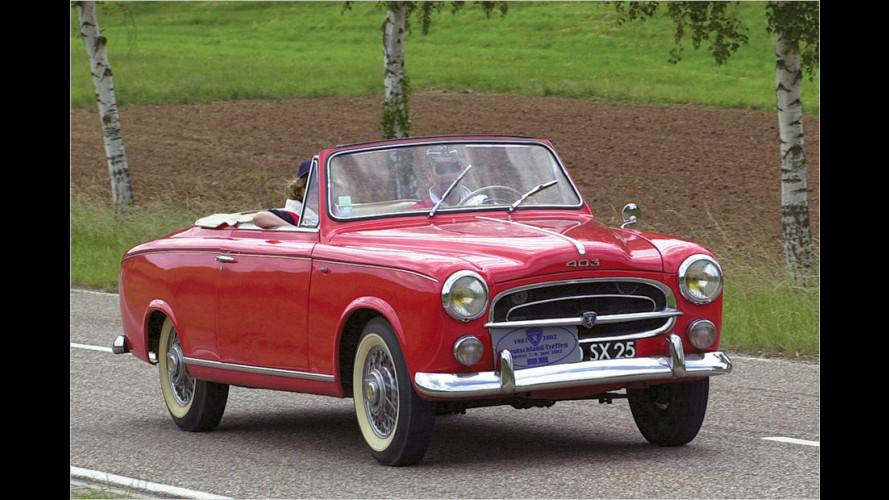 60 Jahre Peugeot 403 Cabrio