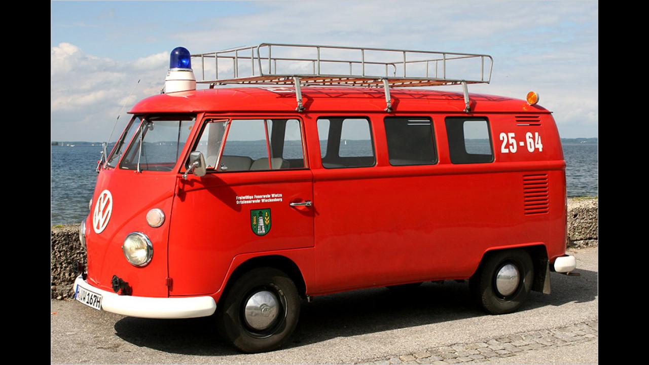 Der VW T1 im Einsatz