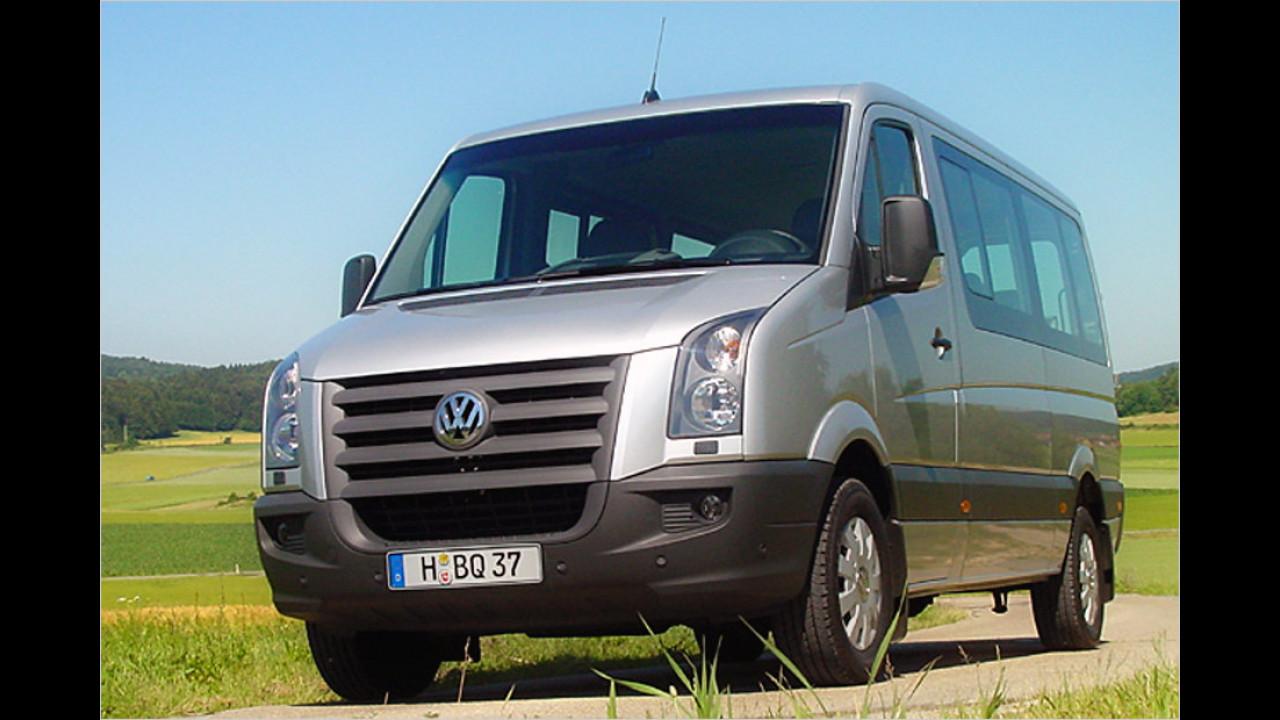 Transporter, 100.001 bis 150.000 Kilometer: VW Crafter (2006)