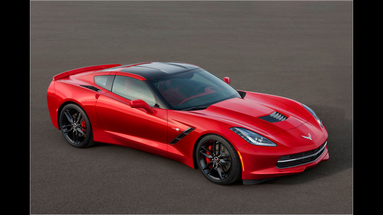 Top: Chevrolet Corvette Stingray