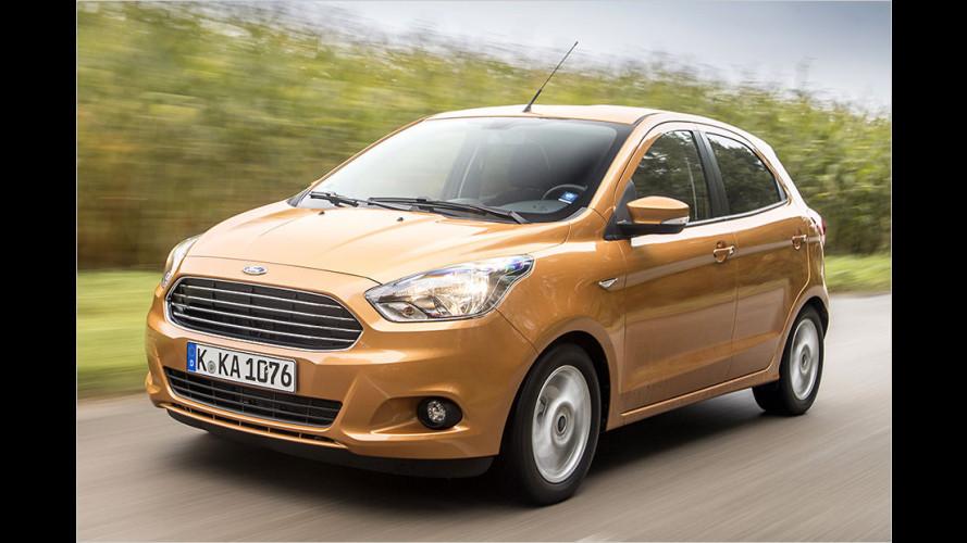 Test: So fährt sich der neue und fünftürige Ford Ka+