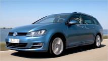 VW Golf Variant im Video
