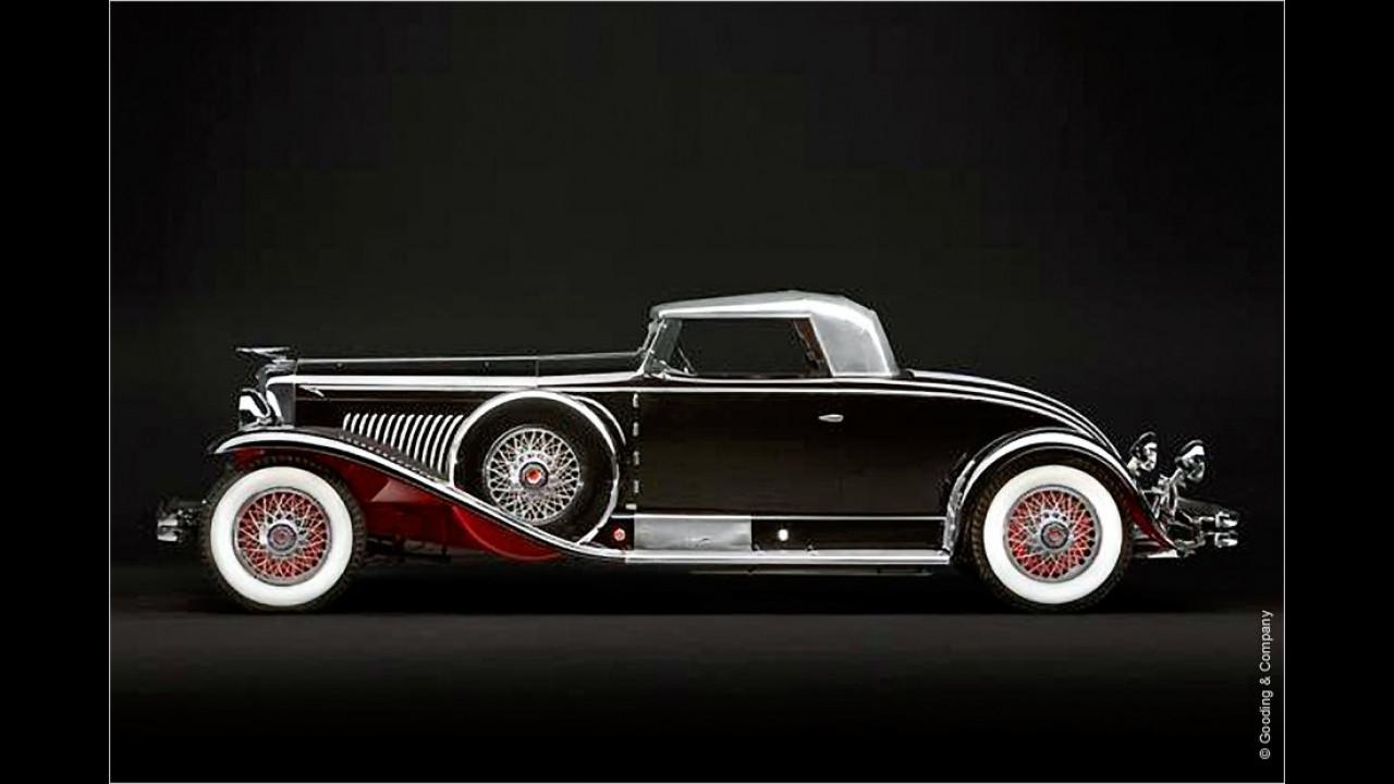 Platz 2 (2011): Duesenberg Model J Roadster, Baujahr 1931
