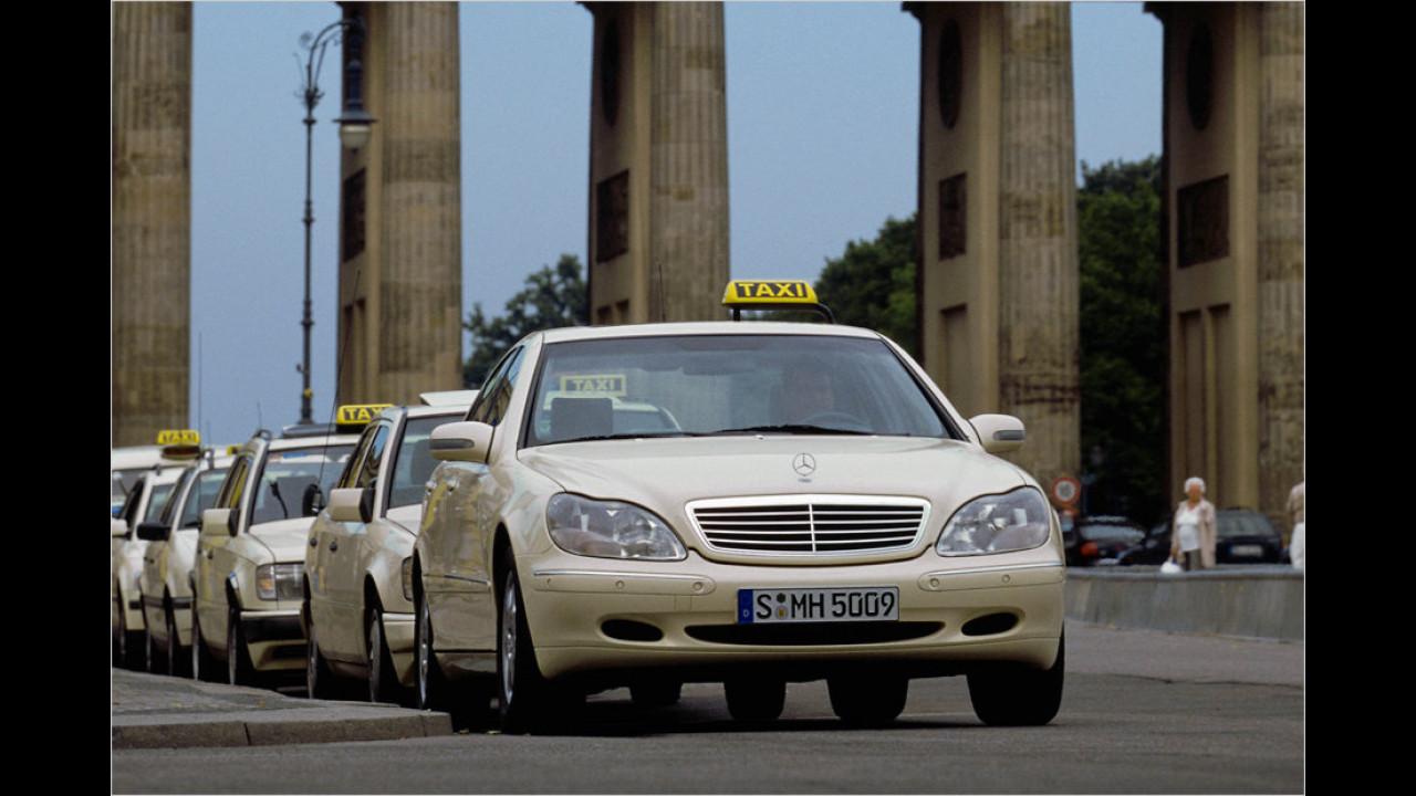 Mercedes S 320 CDI Taxi (2002)
