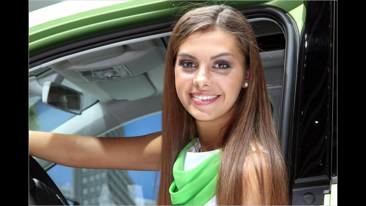 Auf dem Genfer Salon gibts auch viele Greencars und anderes Grünes zu sehen. Hier ein besonders schönes Beispiel
