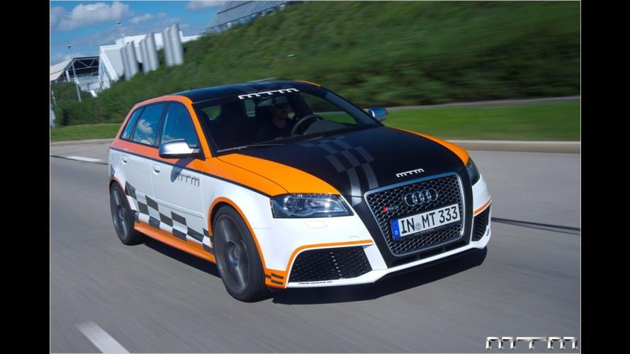 Kompaktes PS-Monster: Audi RS 3 Sportback von MTM