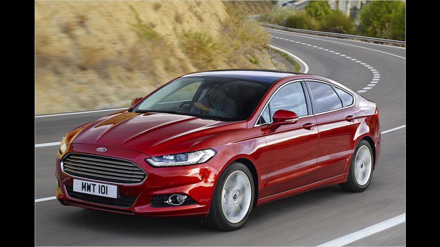 Ford Mondeo (2015): Drei neue Motoren und Allradantrieb