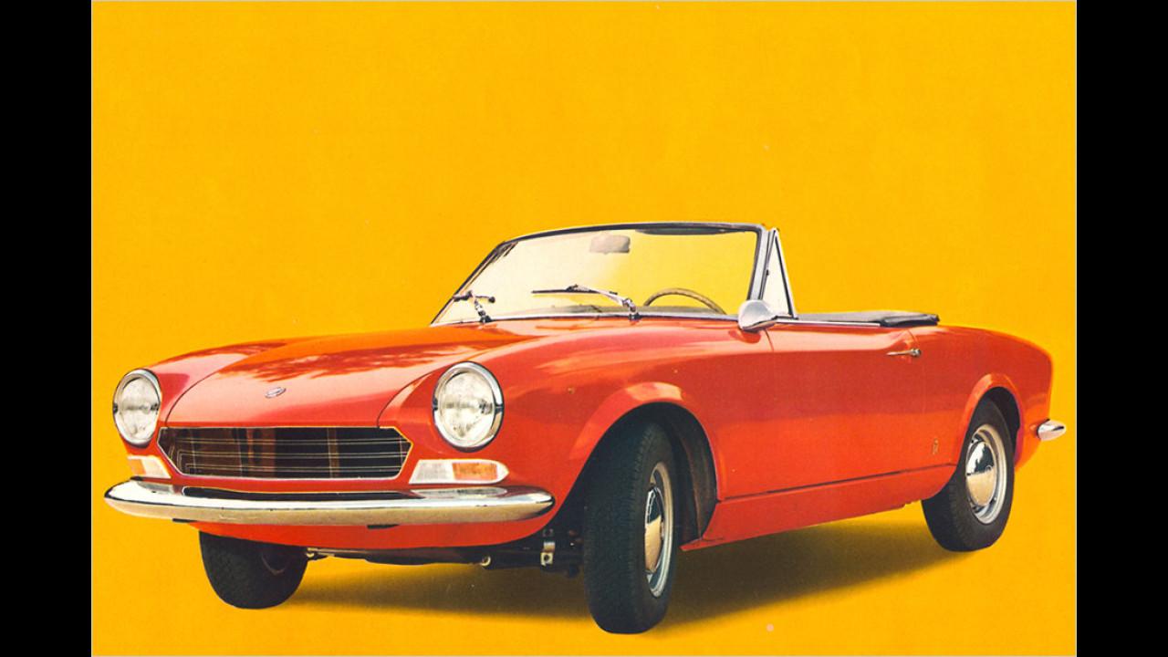 Oldtimer: Fiat 124 Spider (1966)