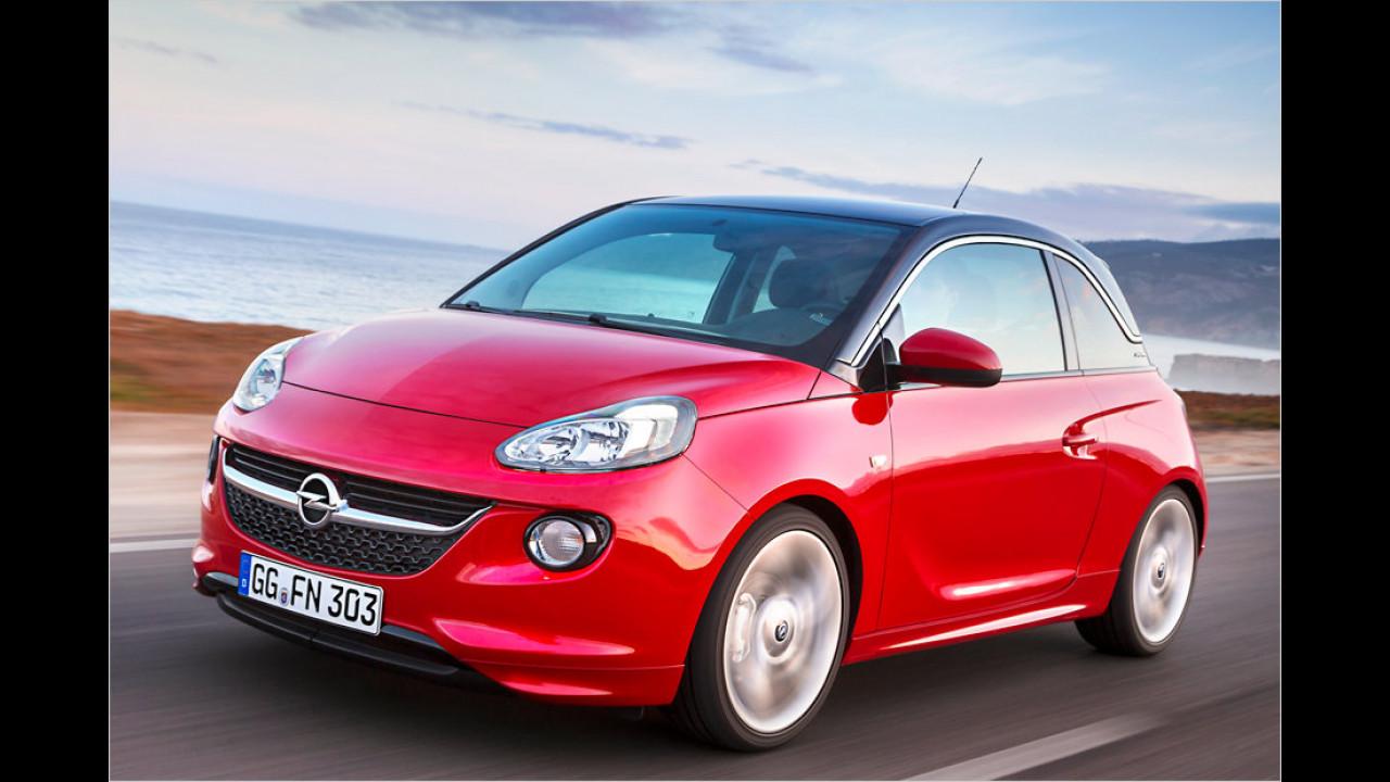 Kleinstwagen, 1. Platz: Opel Adam