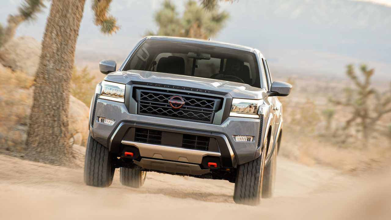 2022 nissan frontier revealed with all-new design to