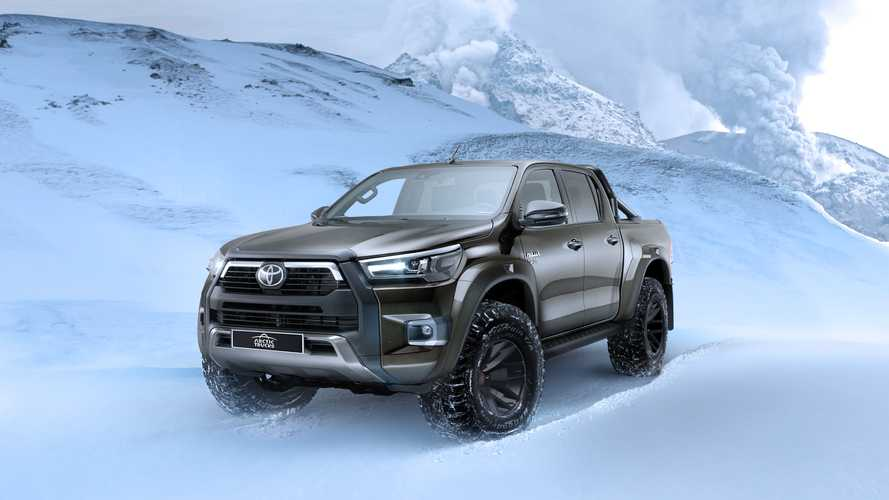 Toyota Hilux Invincible AT35, Arctic Trucks ritocca il mito
