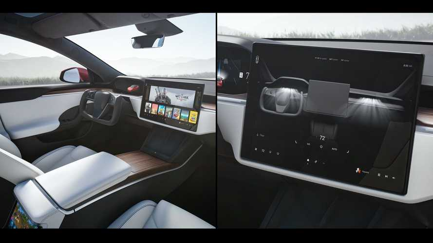 Check Out Refreshed Tesla Model S With Software Version 11 Interface