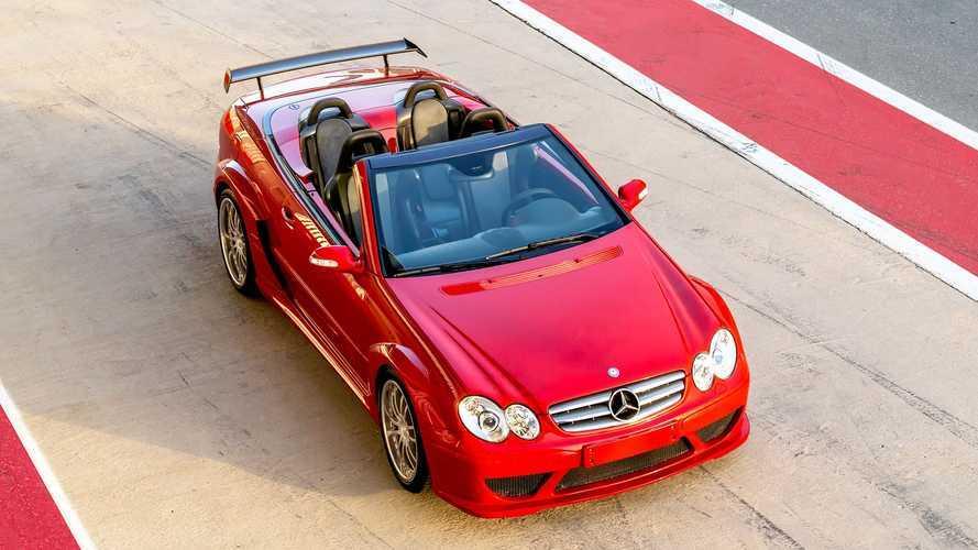 All'asta una rarissima Mercedes CLK DTM AMG Cabriolet